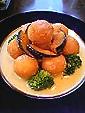 小芋のコロッケwithチーズソース