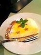 マザームーンカフェのチーズケーキ