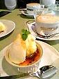マザームーンカフェのメイプルクレームブリュレ