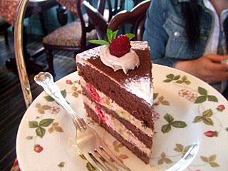 ヴィクトリア生チョコケーキ